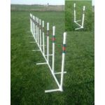 small image of 12 weave poles