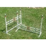 dog agility jumps - set of 2