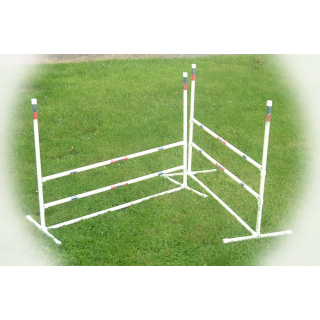"dog agility jumps 3/4"" - set of 2"