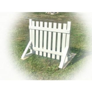 K9 training picket fence hurdle