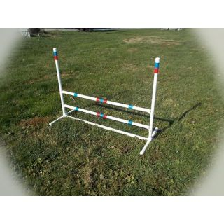 "dog agility 1"" single jump"