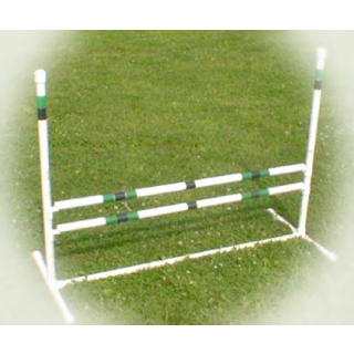 small image of dog agility single jump